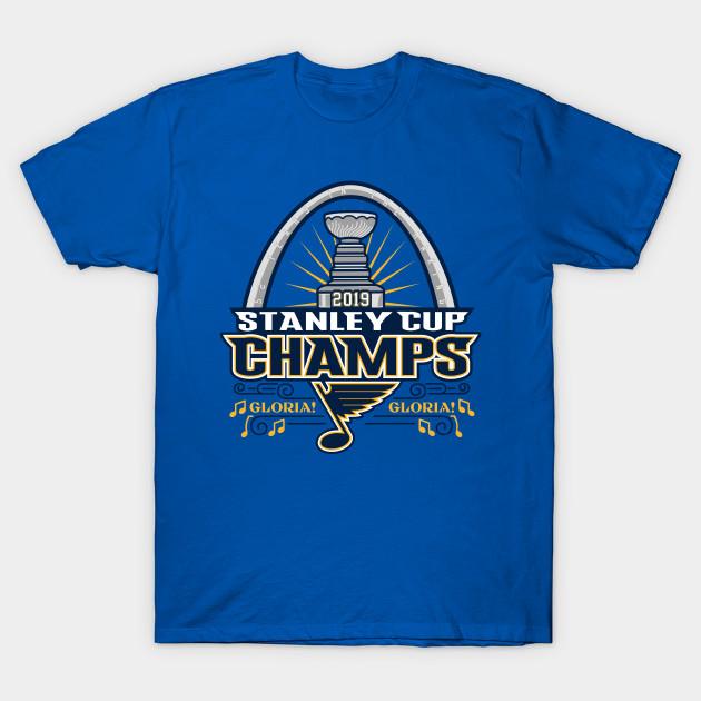 a3f8e761997 St Louis Blues Stanley Cup Champions 2019 - St Louis Blues - T-Shirt ...