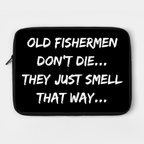 Funny Fishing Quotes Laptop Cases Teepublic