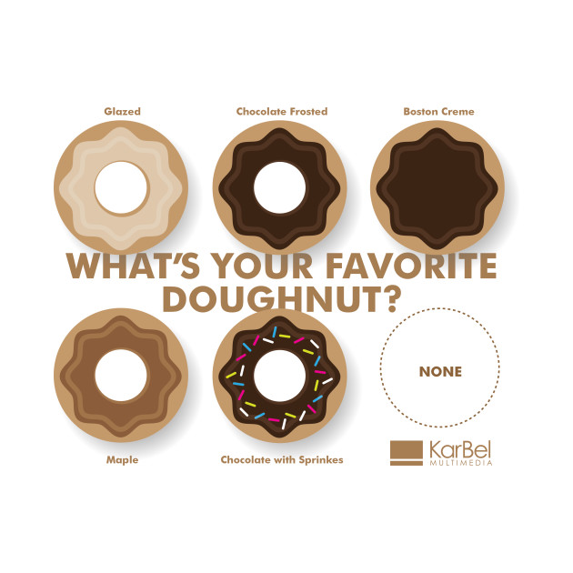 What's Your Favorite Doughnut – Design