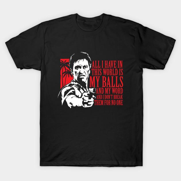 5a52aa984fd Tony Montana (Scarface) - Moseisly - T-Shirt