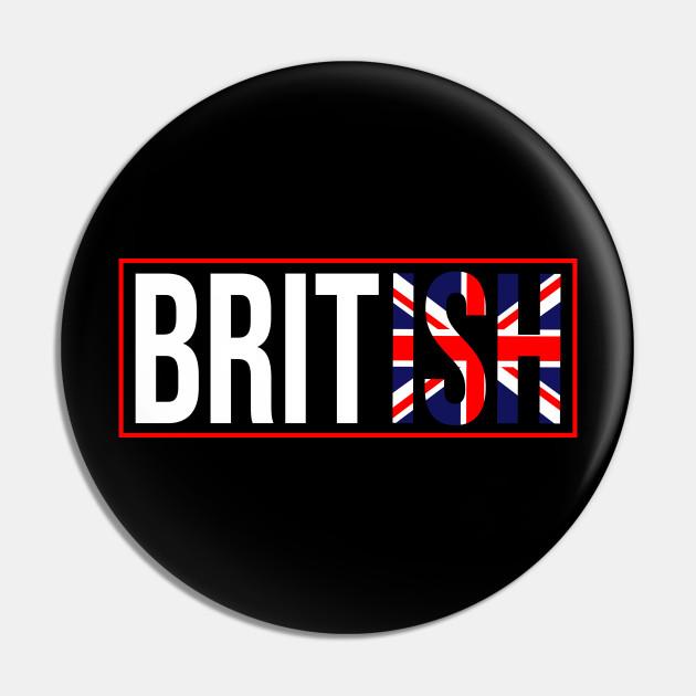 Cool British Flag. Proud Great Britain Flag