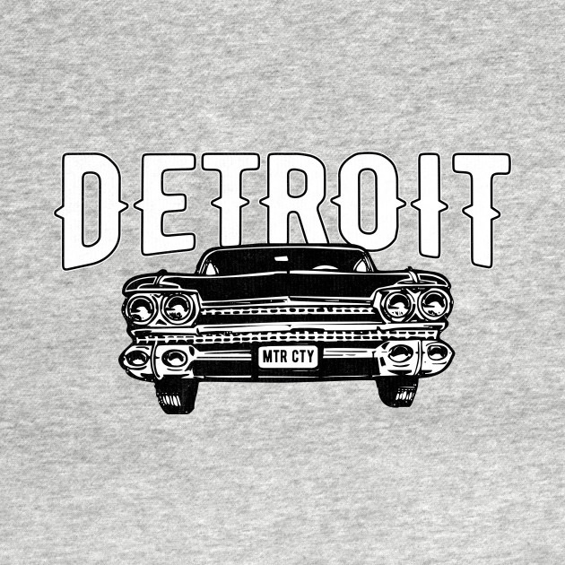 Detroit Motor City Classic American Muscle Car Throwback