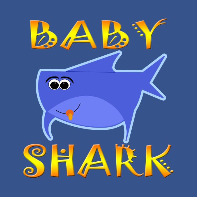 Funny baby shark design baby shark t shirt teepublic 2263305 1 stopboris Images