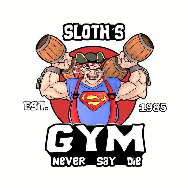 Funny Gym Sloth The Goonies Fitness