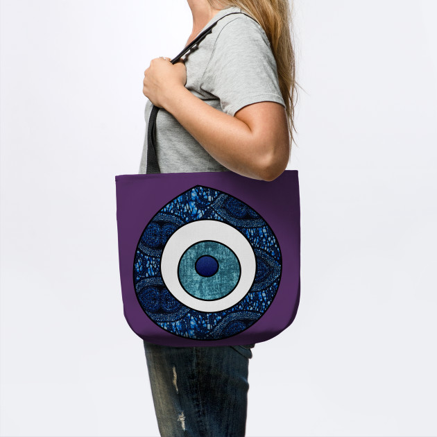 Evil Eye African collage