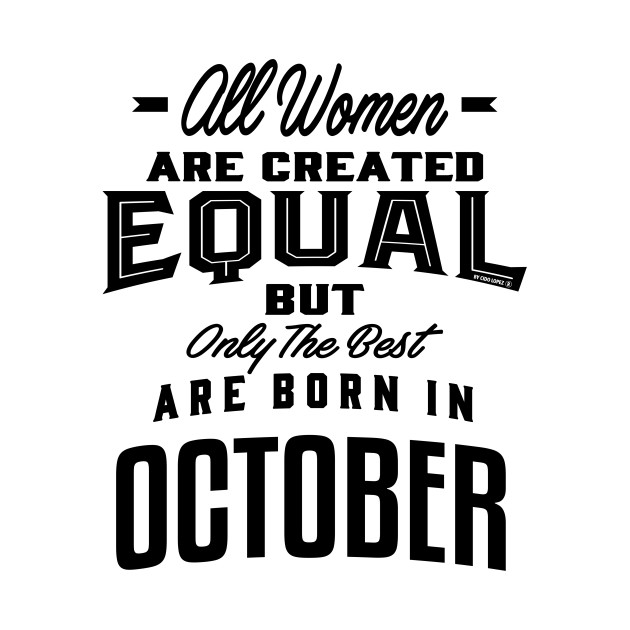 Woman born in October