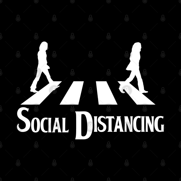 The Beatles Social Distancing - White Version.