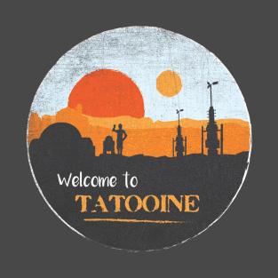Welcome to Tatooine t-shirts