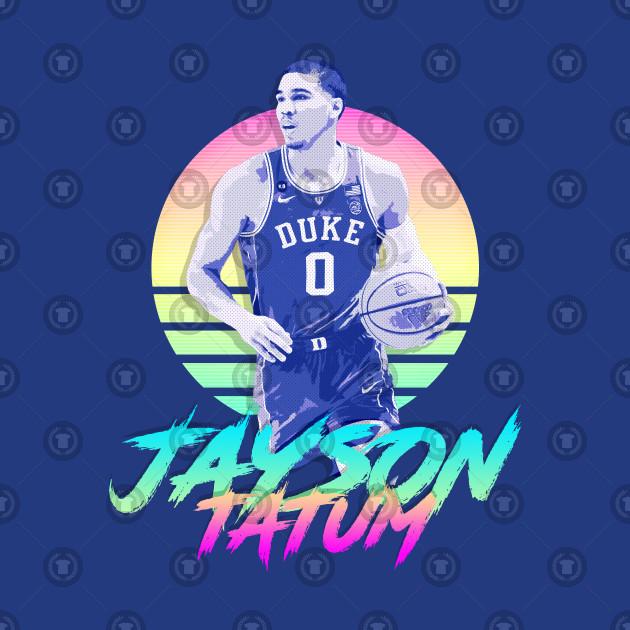 Jayson Tatum Retro Futuristic Aesthetic