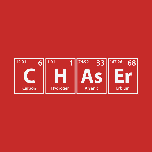 Chaser (C-H-As-Er) Periodic Elements Spelling