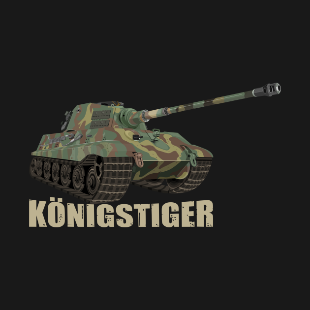 Tiger II Konigstiger Tank German WW2 King Tiger Tanks Panzer Gifts