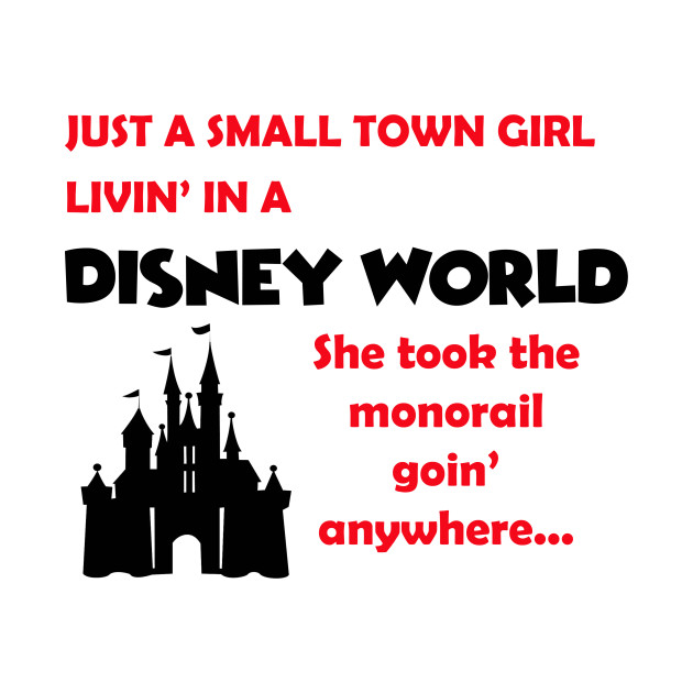 Just a Disney Girl T-Shirt