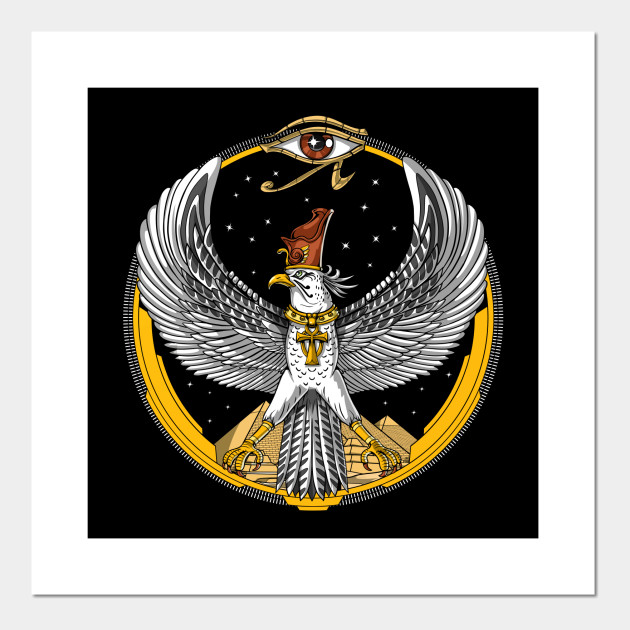 Egyptian Horus Falcon Art Prints