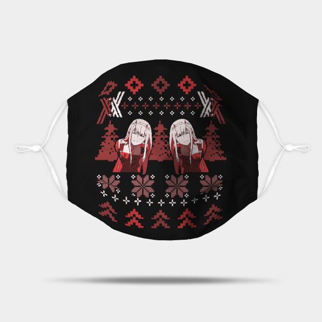 Zero Two Christmas Sweater   Darling in the Franxx
