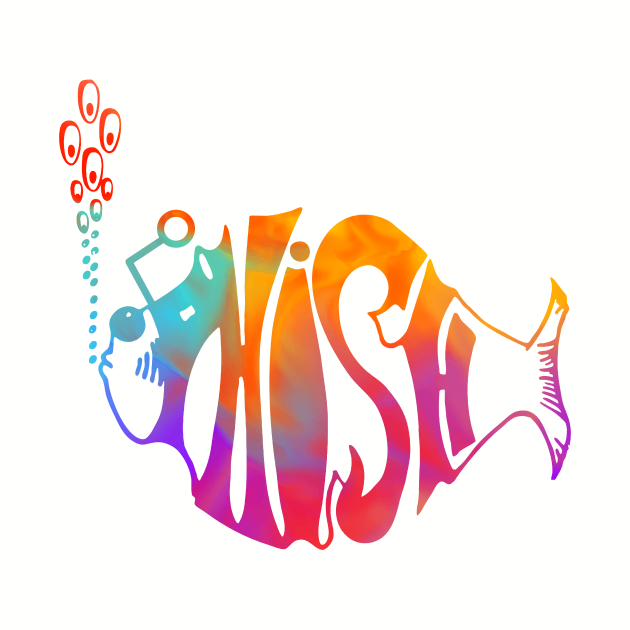Phish Watercolor
