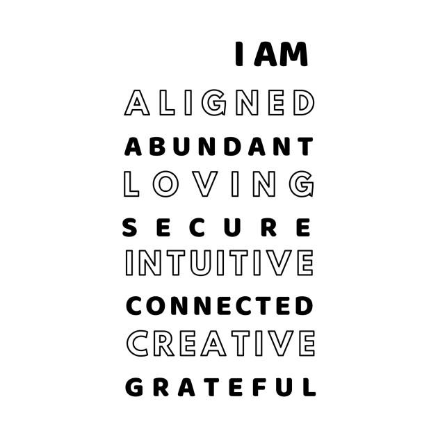 I AM (Affirmations)