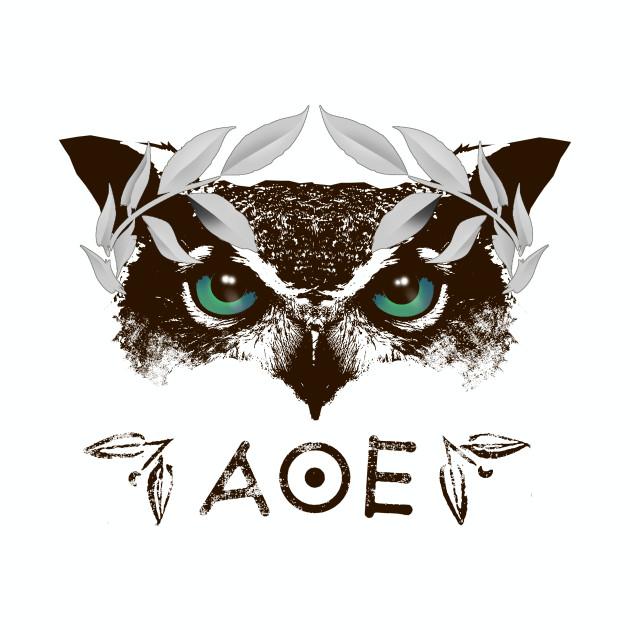 Athena's Owl II - Silver Laurel Variant