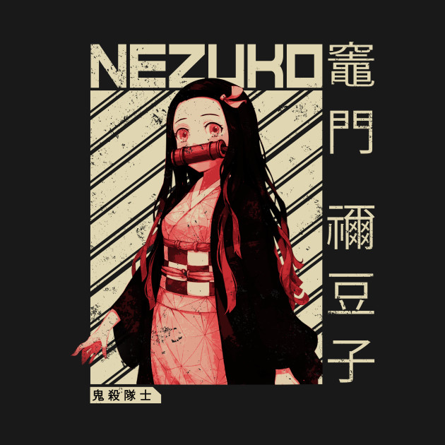 Demon Slayer Nezuko Kimetsu No Yaiba | Anime Shirt