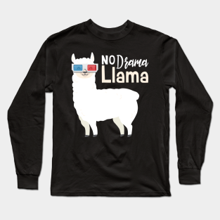 Not My Problem Llama Adult Mens Casual Long Sleeve Hoodie T Shirt