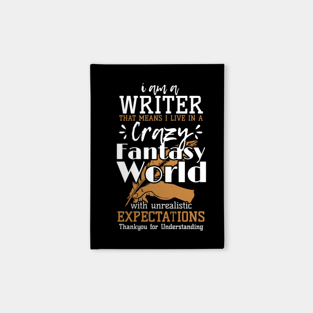 Writer Live In Fantasy World Author Writer