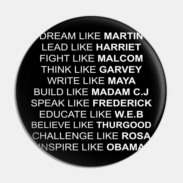 black americans inspiration