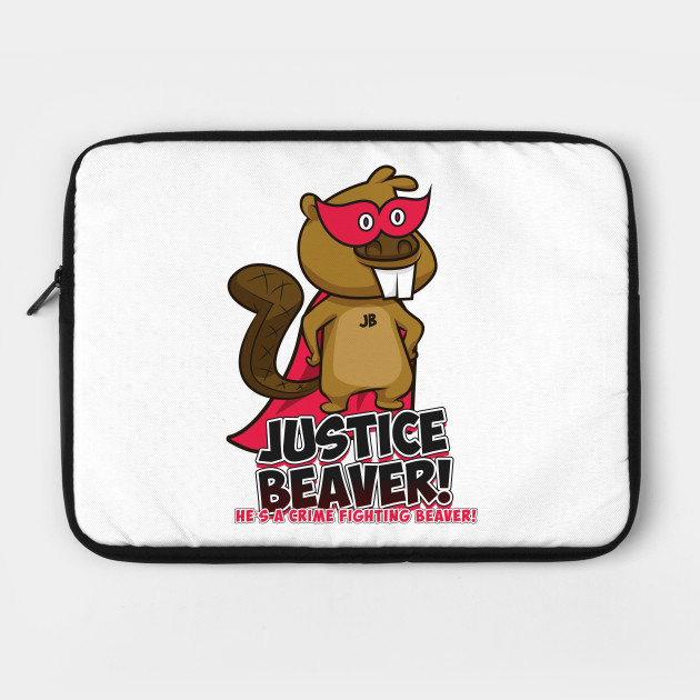 Justice Beaver - The Office Supehero - Crime Fighting Beaver