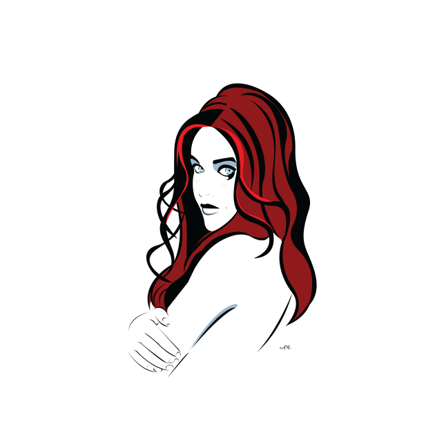 Lila (portrait)