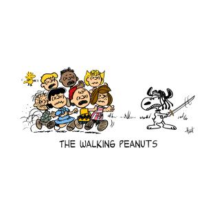 The Walking Peanuts t-shirts