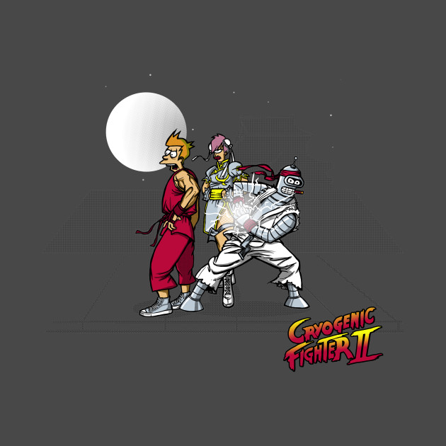 Cryogenic Fighter T-Shirt