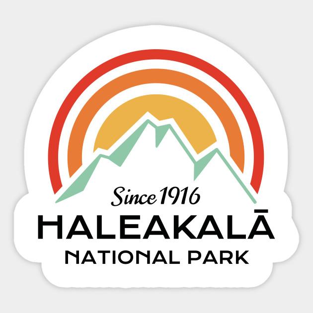 Haleakala National Park StickerNational Park Decal
