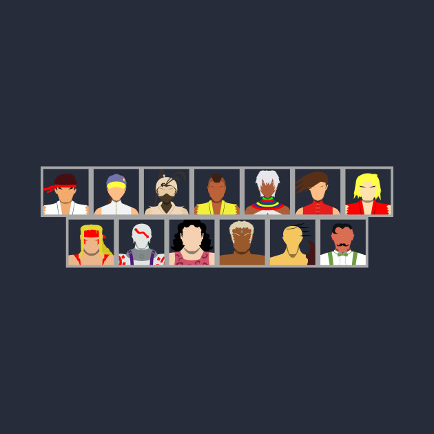 Select Your Character-Street Fighter 3: 2nd Impact