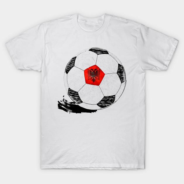 3873919a6 Vintage Soccer Albania Flag T-shirt Albanian Pride - Soccer - T ...