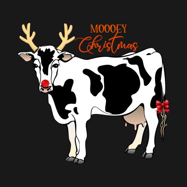 Christmas Cow.Moooey Christmas Cow