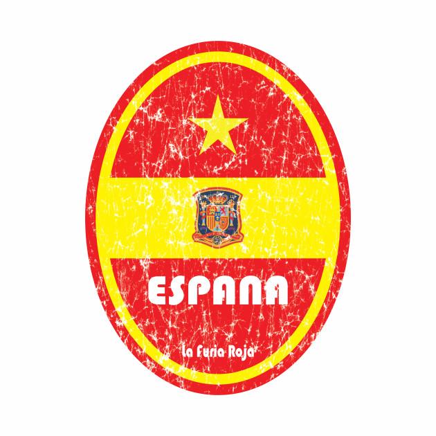World Cup Football 8/8 - Espana (Distressed)