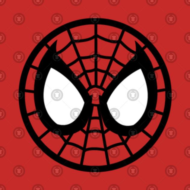 Spider Man Mask Logo Spider Man Kids T Shirt Teepublic