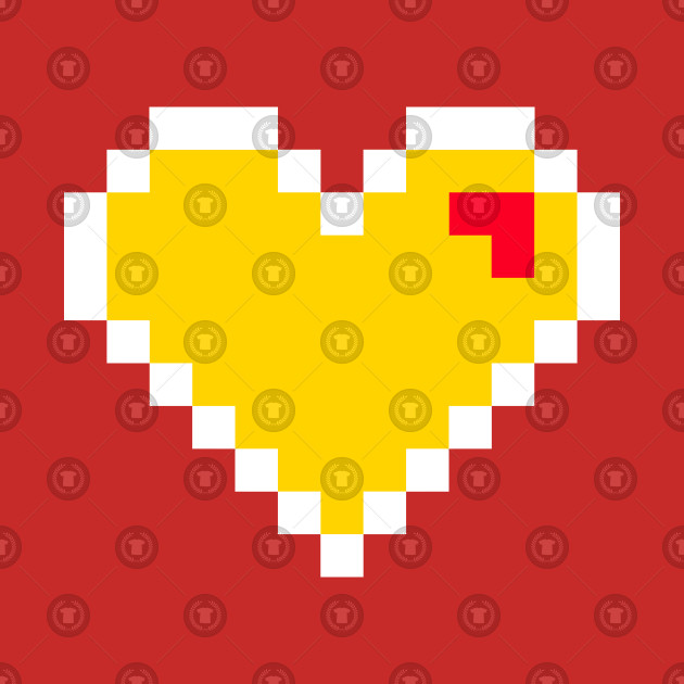Flash 8bits fanart heart