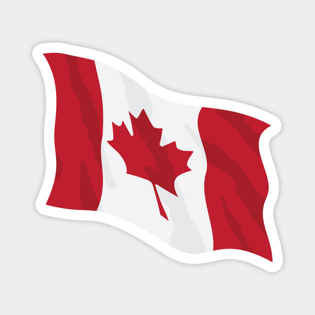 Canada Waving Flag Illustration