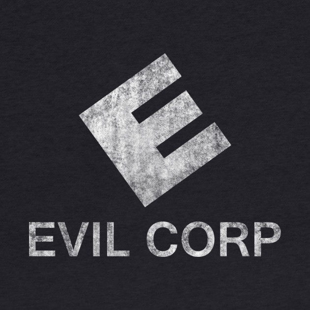 Mr. Robot - Evil Corp - White Dirty