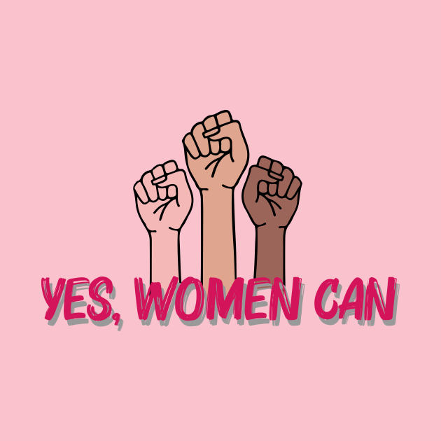 Yes, women can