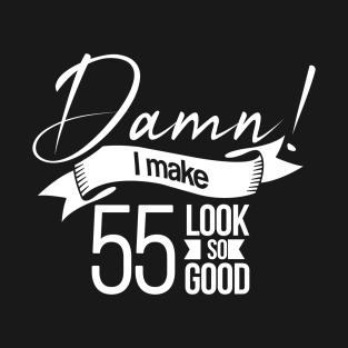 55th Birthday T Shirts