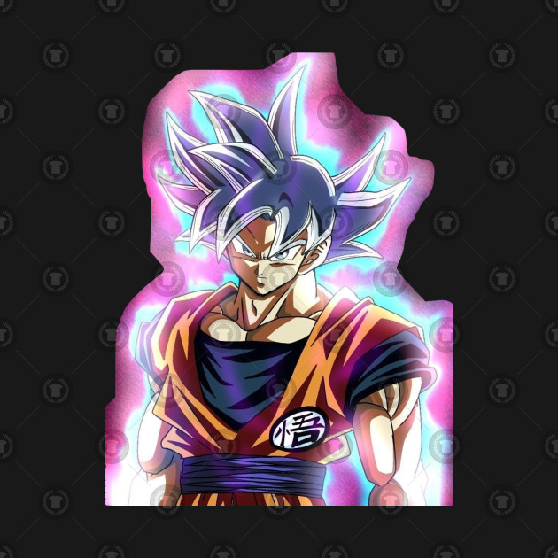 Goku Ultra Instinct With Cool Aura - Goku