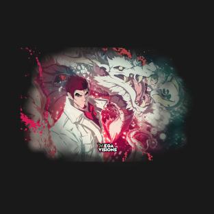 Yakuza: Like a Dragon (fade) t-shirts