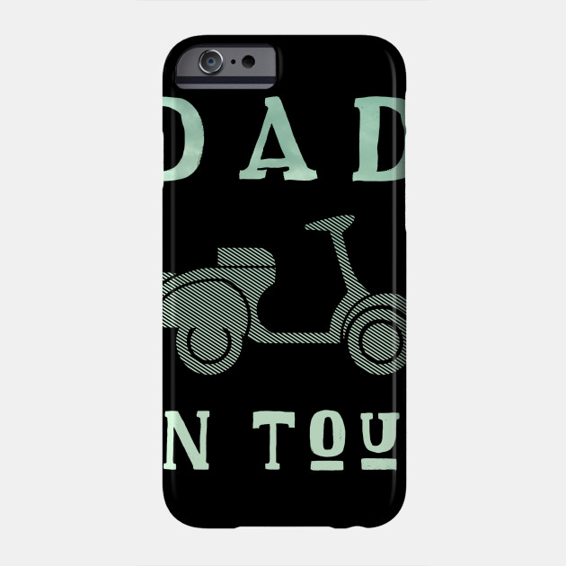 Dad on Tour Father Motorbike Biker Father's father Phone Case