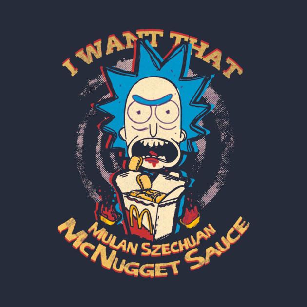 I Want that , Mulan Szechuan McNugget Sauce