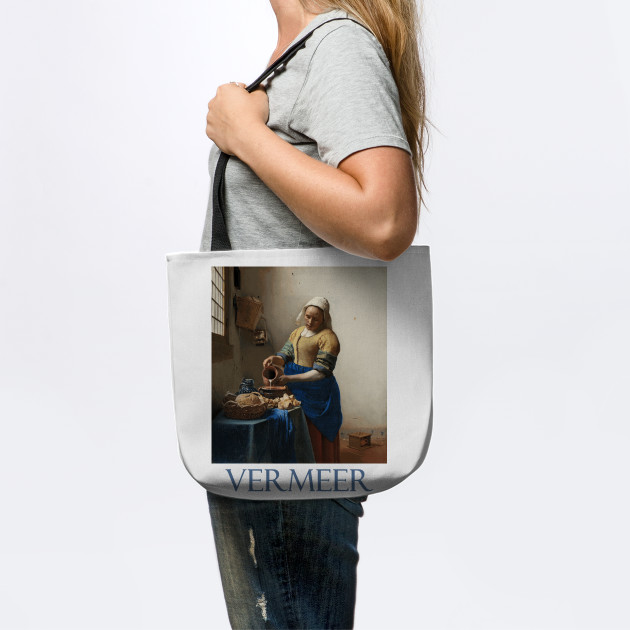 The Milkmaid (The Kitchen Maid) by Johannes Vermeer