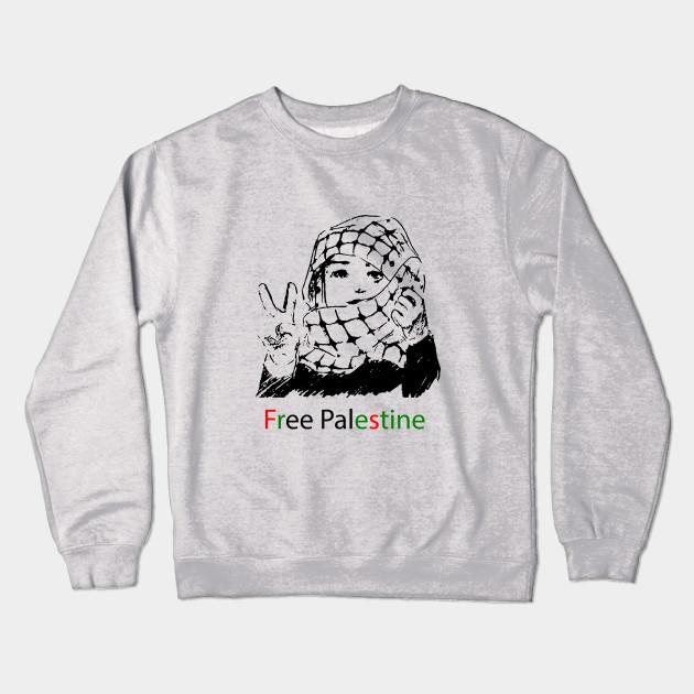 bef4eb06000 Freedom for Palestine - Free Palestine - Crewneck Sweatshirt | TeePublic