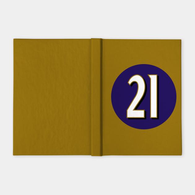 Mark Ingram Jr Baltimore Ravens Number 21 Jersey Inspired