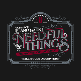 Needful Things t-shirts