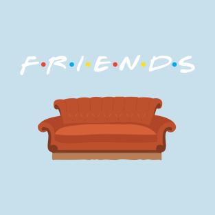 Friends Sofa t-shirts