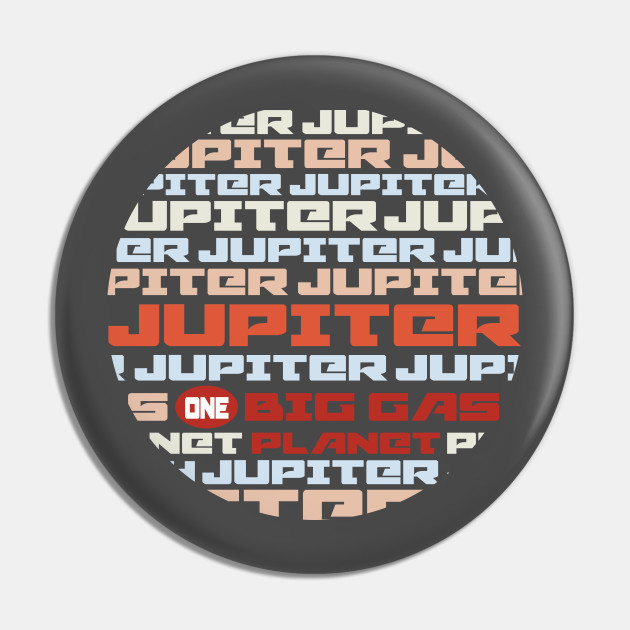 Jupiter is one big gas planet